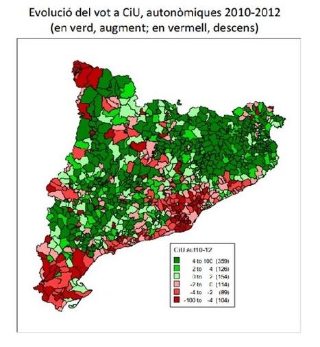 Informe 25N (III): El vot a CiU | Drets socials | Scoop.it