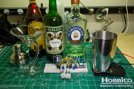 Overview | Smart Cocktail Shaker | Adafruit Learning System | Arduino, Netduino, Rasperry Pi! | Scoop.it