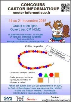 Le @ConcoursCastor du samedi 14 novembre à 7h au samedi 21 novembre à 20h | New Generation | Scoop.it