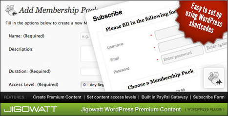 How to Create Your Own Membership Site by Using WordPress | WordPress from WPburo | Scoop.it
