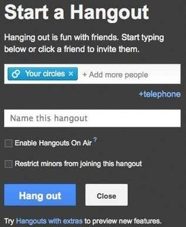 How to Record & Share Google+ Hangouts - AppNewser | TELT | Scoop.it