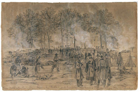 Civil War Battlefield Art - Pictures, More From National Geographic Magazine   The Civil War   Scoop.it