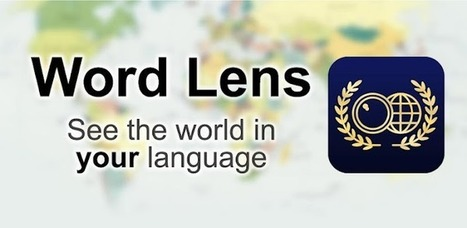 Word Lens - Applications Android sur GooglePlay | Android Apps | Scoop.it
