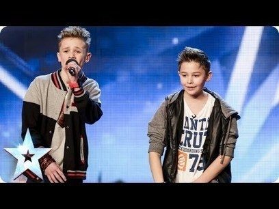 Bars & Melody - Simon Cowell's Golden Buzzer act | Britain's Got Talent 2014 | Gold Bars | Scoop.it