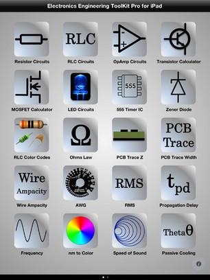 App Shopper: Electronics Engineering ToolKit Pro for iPad (Productivity) | IKT i læring | Scoop.it