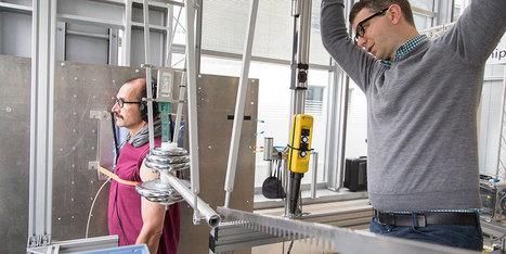 Pour améliorer la sûreté des robots, cette machine frappe des volontaires | Une nouvelle civilisation de Robots | Scoop.it