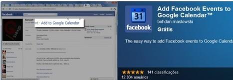 Extensión para añadir los eventos de Facebook en Google Calendar   Aplicaciones y Herramientas . Software de Diseño   Scoop.it
