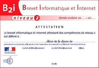 Lycée : l'évaluation du « Brevet informatique et internet » change à la rentrée | Libertés Numériques | Scoop.it