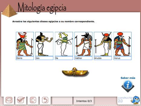 Mitología egipcia | Recursos Educativos para ESO, Geografía e Historia | Scoop.it