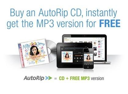 AutoRip : tout album acheté sur Amazon, offert en version MP3 | Musique et numérique en bibliothèque | Scoop.it