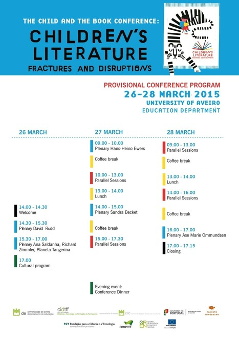 The child and the book conference 2015 | Pelas bibliotecas escolares | Scoop.it