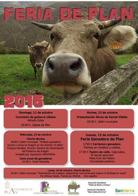 Feria de Plan du 11 au 15 octobre | Vallée d'Aure - Pyrénées | Scoop.it
