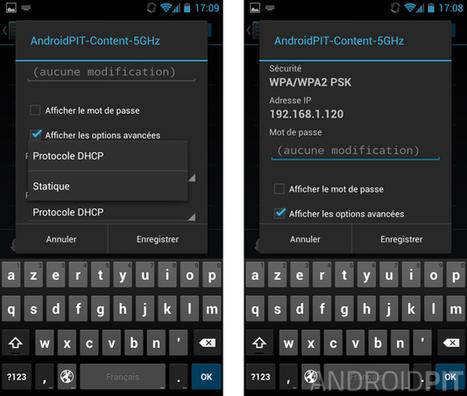 Comment configurer une adresse IP statique sur Android - AndroidPIT | Enseigner avec Android | Scoop.it