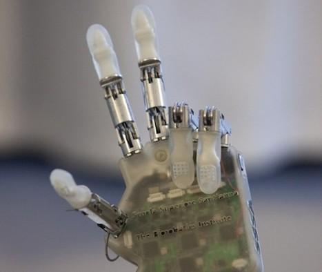 Mano biónica: desarrollan dispositivo que permite recuperar el tacto | Tecnología y Electrónica | Scoop.it