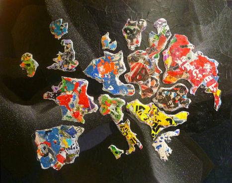 galerie collage cartographie artistique lemock pour représenter le monde | Cartographie culturelle | Scoop.it