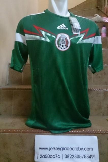 Jersey Mexico Home Adizero Official Piala Dunia 2014   jual jersey piala dunia   Scoop.it