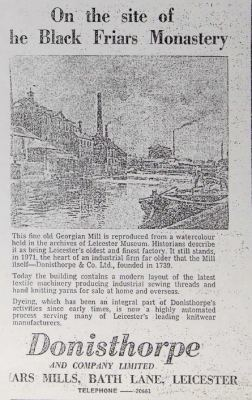 The Ongoing Tale of Donisthorpe Mill,Leicester | Manufacturing Pasts: Creating & using OER from Leicester's Industrial History | Scoop.it