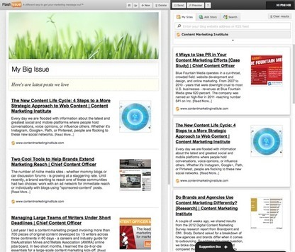 Create Newsletters in Minutes with FlashIssue.com | Public Relations & Social Media Insight | Scoop.it