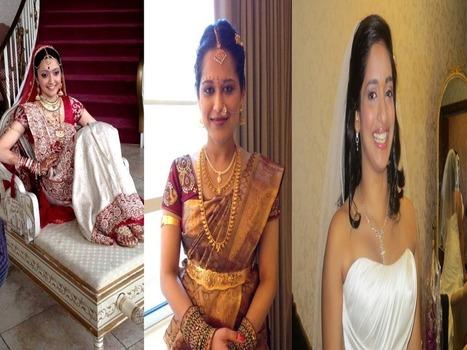 Indian Bridal Makeup - Wedding Bride New Jersey NJ, USA ...   Indian Wedding Hair and Makeup in Parlin, NJ - SakhiBeauty   Scoop.it