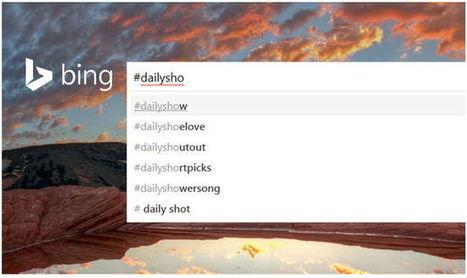 En Bing ahora se puede buscar por Hashtags y nombre de @usuario de Twitter│@GeeksRoom | IncluTICs | Scoop.it