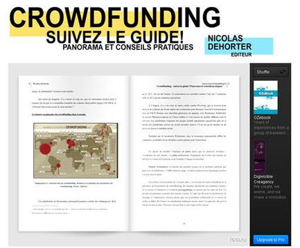 Crowdfunding : un guide pour tout savoir sur le financement participatif par les internautes | Time to Learn | Scoop.it