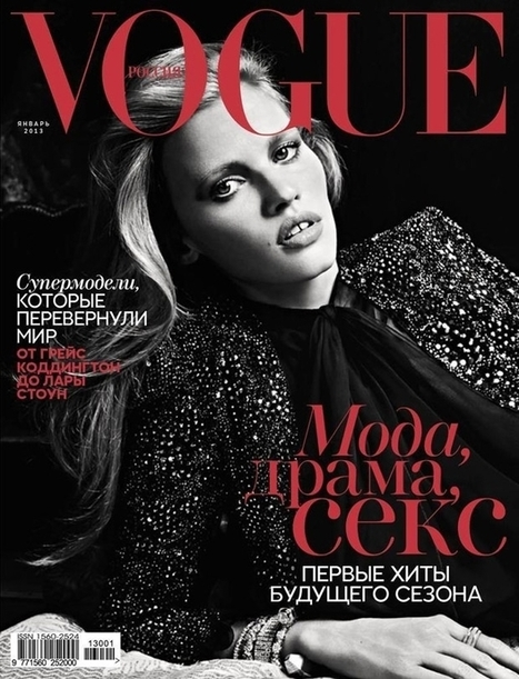 Lara Stone covers Vogue Russia | Create Your Dream | Scoop.it