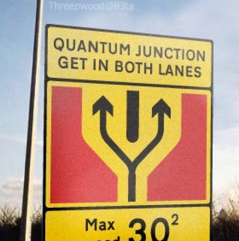 L'incertidude du carrefour ou Heisenberg en promenade.. | BLAGA2BAL | Scoop.it