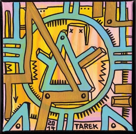 Peintures de Tarek : petits formats | Tarek artwork | Scoop.it