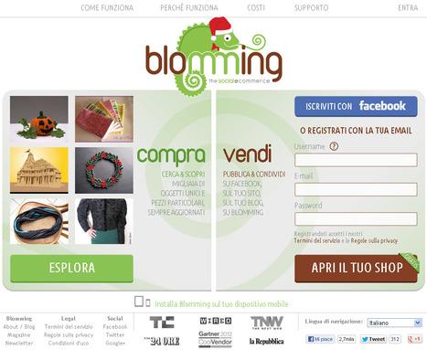 Crea Con Le Tue Mani Un Lavoro Online Su Misura Per Te: Social Commerce: Con Blomming Puoi Vendere Da Qualsiasi Punto Sul Web | Roma Gratis - Rome for free | Scoop.it