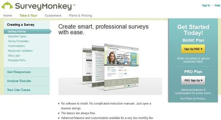 Survey Monkey | Social media kitbag | Scoop.it