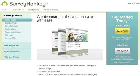 Survey Monkey | COGC digital culture | Scoop.it