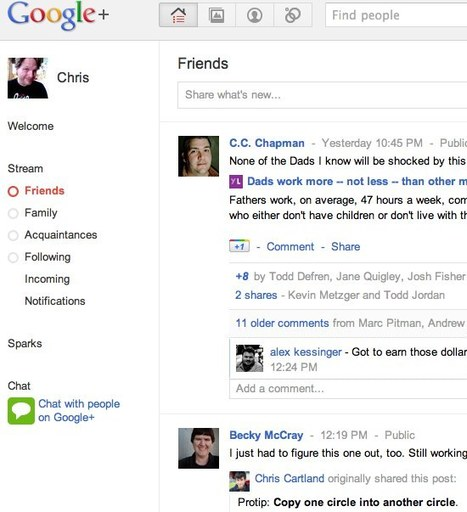 Google Plus- First Look from Chris Brogan | The Google+ Project | Scoop.it