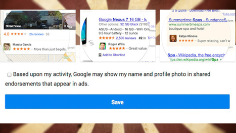 How to Opt Out of Google Using Your Name and Face in Ads | Google | Scoop.it
