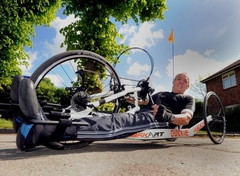 Paraplegic man takes on ultimate cycling challenge | Spinal Injuries and Paralysis News and Information | Scoop.it