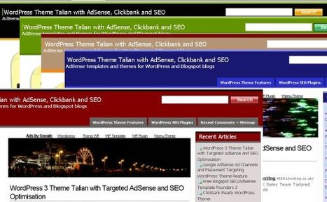 WordPress SEO Themes – AdSense Templates   Top AdSense Alternatives   Scoop.it