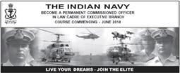Indian Navy Law Cadre Officer (PC) Notification 2014 | cdsexam.com | UPSC CDS Exam | Scoop.it