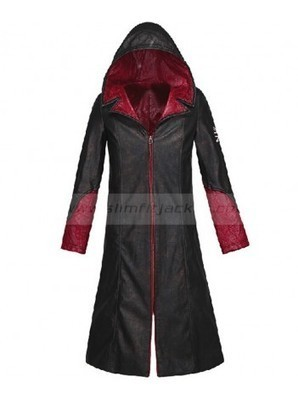 Devil May Cry Coat for Ladies | DMC Dante Leather Jacket | Women's Jackets | Scoop.it