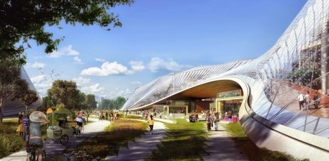 BIG & Heatherwick's Design for Google's California Headquarters | sustainable architecture | Scoop.it