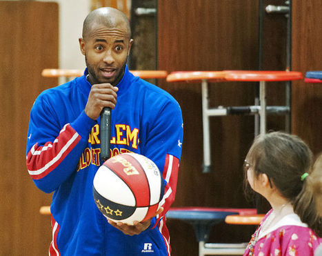 Globetrotter 'Dizzy' Grant teaches Hawthorne students ABCs of bullying prevention - The Missoulian | Anti-Bully Resources | Scoop.it
