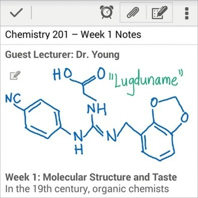 Handwriting Arrives in Evernote for Android | Evernote, gestion de l'information numérique | Scoop.it