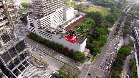 Coke Uses Drones To Deliver Refreshment To Singapore's Migrant ... | IT News from Web Synergies, Singapore | Scoop.it
