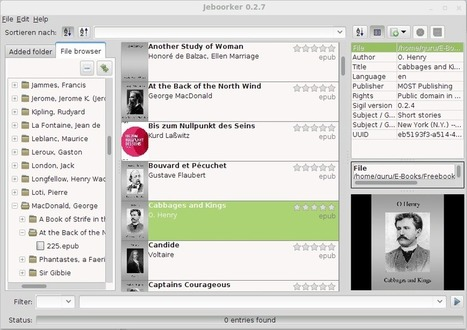 jeboorker - ebook management software | Time to Learn | Scoop.it
