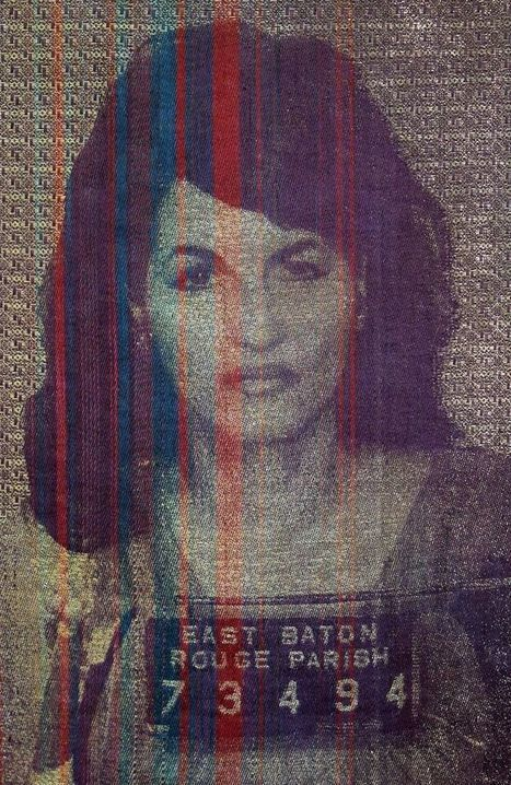 The Meticulously Woven Mugshots of Joanne Arnett | Strange days indeed... | Scoop.it