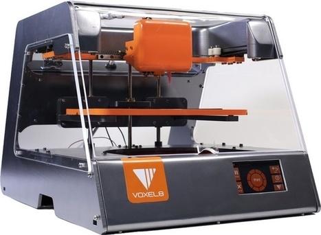 Voxel8 komt met 3d-printer voor printen van elektronica - IT Pro - Nieuws - Tweakers | 3D and 4D PRINTING | Scoop.it
