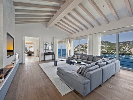 Beautiful Spanish Villa with Views of Port d'Andratx | KOUBOO.com - Well Traveled Home Decor & Interior Design | Scoop.it