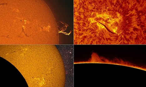 Amateur photographer captures incredible close-up images of the sun | What's new in Visual Communication? | Scoop.it
