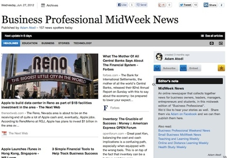"""June 27 - """"Business Professional MidWeek News"""" is out 