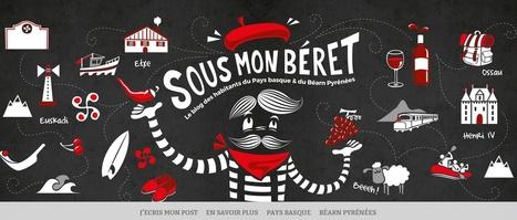 SOUS MON BERET.com  le nouveau blog des coups de coeur des habitants du Béarn et du Pays basque | Veille, E-commerce, web : Sumotic | Scoop.it