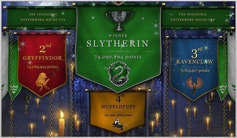 Pottermore Insider: Congratulations, Slytherin on winning the inaugural Pottermore House Cup and the Secret Bonus! | Pottermore | Scoop.it