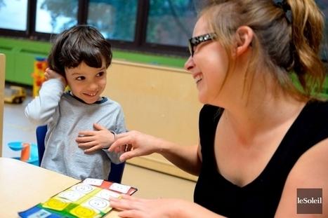 Un CPE de Québec s'adapte aux autistes | Normand Provencher | Société | Digital games for autistic children. Ressources numériques autisme | Scoop.it